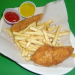 Kids Chicken Fingers with Fries