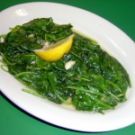 Side of sauteed Spinach
